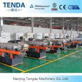 Máquina plástica del estirador del sistema de la granulación del hilo de Tsh-65 Tenda