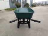 Вагонетка кургана колеса тачки Wb7805 тележки инструмента сада