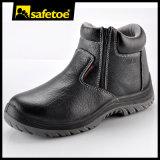 Atan para arriba los zapatos de seguridad con cremallera zapato de trabajo Calzado de Seguridad M-8160