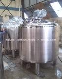 Acero inoxidable tanque de mezcla mezcla de leche