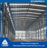 Construção de aço do edifício de frame de aço da seção de H para a oficina