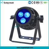 32 비트 선형 흐리게 하는 소형 Rgbaw UV LED 동위 빛