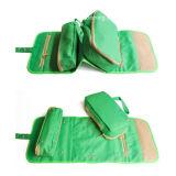 防水Multi Layer Hanging Makeup女性洗面所の洗面用品の化粧品袋