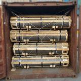 Np RP PK UHP de GrafietdieElektroden van de Koolstof van de Hoge Macht Ultral voor de Oven van de Elektrische Boog worden gebruikt