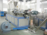 PVC微粒PVC餌は表面切断の押出機のペレタイジングを施す生産ラインを停止する