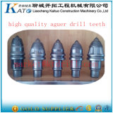Punte di perforazione della coclea del fondamento carboniero dei denti