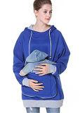 Pull molletonné à capuchon de poche de kangourou de Hoodie de pull de femmes