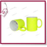 11oz Coated Mug con Fluoresecent Color da Mejorsub
