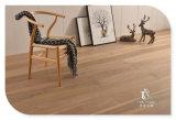 設計されるカシ3-Layerまたは多層木製のフロアーリングに床を張る