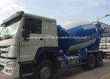 HOWO 구체 믹서 트럭 9 수출을%s M3 시멘트 드럼 트럭