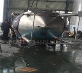 Aço inoxidável Duplo depósito de mistura de líquidos com camisa de aquecimento por vapor