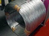 fil galvanisé plongé chaud élevé de zingage 500-600kg de 4.9mm