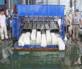 Planta comercial do fabricante de gelo do bloco