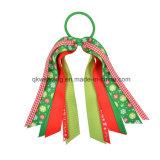 De met de hand gemaakte Toebehoren van het Haar van Kerstmis van de Boog van het Lint van de Manier Kleurrijke