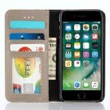 iPhone Xのための流行および簡単な格子縞パターン革箱