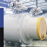 Vatac API 6D Elenco válvula de bola del muñón de acero forjado