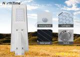 lampada di via solare tutta compresa di alta di litio 25watt capienza LED della batteria