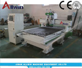 1224 Dos jefes Router CNC Máquina de grabado de precio de fábrica de 1200x2400mm