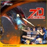 Zhuoyuan inversiones empresariales de la máquina de cine en 7D