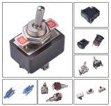 Micro- van het Contact van het nieuwe Product Zilveren Rode ElektroSchakelaar
