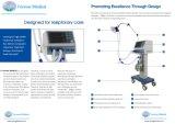 De Apparatuur van de Noodsituatie van de Machine ICU/van ventilator