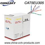 De Kabel van het Netwerk van de Camera van kabeltelevisie van het Koper UTP Cat5e (CAT5EU305)