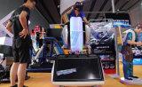De muntstuk In werking gestelde Machine van het Spel van de Arcade van de Simulator van Vr van de Raceauto van de Motorfiets 9d