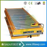 il rullo di legno elettrico idraulico di capienza 1000kg Scissor la Tabella di elevatore