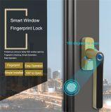 Wafu intelligenter Fingerabdruck-Verschluss-Keyless Eintrag-nachladbare drahtlose Sicherheits-Verschluss-Zink-Legierungs-Hebel-Fenster-Verschlüsse (WF-013)