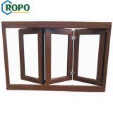 Doppi ciechi finestra piegante interna del blocco per grafici di legno e della finestra di vetro del PVC