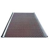 65mn ステンレス鋼交換圧着ワイヤメッシュ砂砂利クラッシャー 採掘および採石用のフック付き振動シーブスクリーンメッシュ