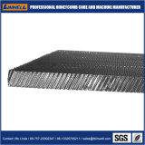 Inclinado en forma de panal de aluminio anodizado de impresión de núcleos para el incombustible
