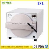 strumentazione di laboratorio dentale dell'autoclave 18L del vapore di sterilizzazione medica dentale dello sterilizzatore