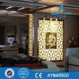 Installation facile mur extérieur panneau décoratif peut Couleur personnalisée et la forme