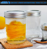 Fertigkeit-Glaskonserve-Stauterrine-Glas der Küche-250ml