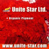 Pigmento orgánico naranja 34 pintura a base de solvente