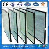 preço de fábrica na China Janela isolados temperado&o vidro da porta