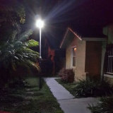 Интегрированный солнечный свет сада уличных светов солнечный с датчиком движения