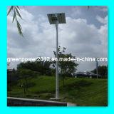 La luz solar de baterías recargables sin mantenimiento.