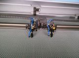 Laser-Ausschnitt/Stich-Maschinerie für Leder/Pelze/Tuch/Segeltuch
