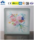 Jinghua artístico de alta calidad P-051 de la pintura de ladrillo y bloque de vidrio