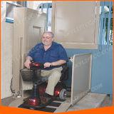 身体障害者のための車椅子用段差解消機のプラットホーム