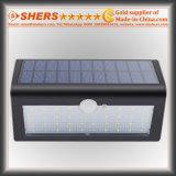 38 LED (SH-2610)를 가진 태양 운동 측정기 벽 빛