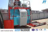 Elevador da grua da construção da gaiola 1t Sc100 da alta qualidade único