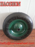 Roda de borracha pneumática por atacado 3.50-8