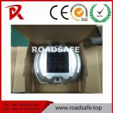 Roadsafe 사려깊은 묘안석 LED 태양 도로 장식 못 섬광 알루미늄 도로 장식 못
