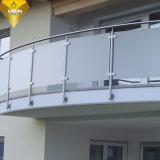 호주 스테인레스 스틸 글라스 난간 이노x 발코니 또는 계단(JBD-B009)