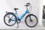 안 건전지 Jb-Tdf15z를 가진 숙녀 중국을%s 전동기 도시 자전거