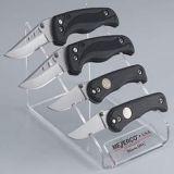 Présentoir acrylique de couteau