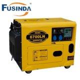 Groupe électrogène diesel refroidi par air diesel silencieux économique de générateur